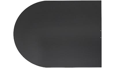 JUSTUS Bodenschutzplatte »B3«, 100x120 cm, schwarz, zum Funkenschutz kaufen
