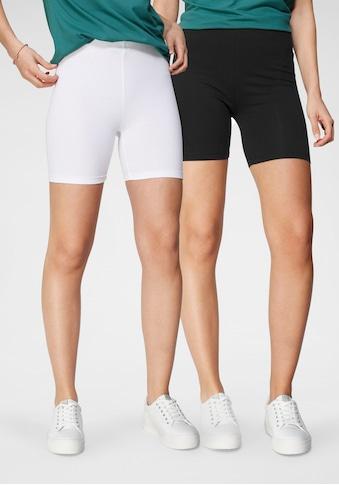 Tamaris Radlerhose, (2er-Pack), zum Unterziehen unter Kleidern und Röcken kaufen