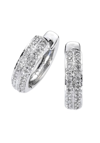 Diamonds by Ellen K. Creolen »585/ -  Weißgold Diamant 0,10ct.« kaufen