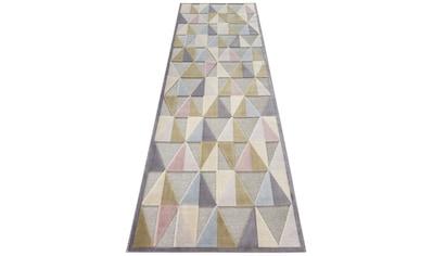 ELLE Decor Läufer »Creuse«, rechteckig, 8 mm Höhe, Hoch-Tief-Struktur kaufen