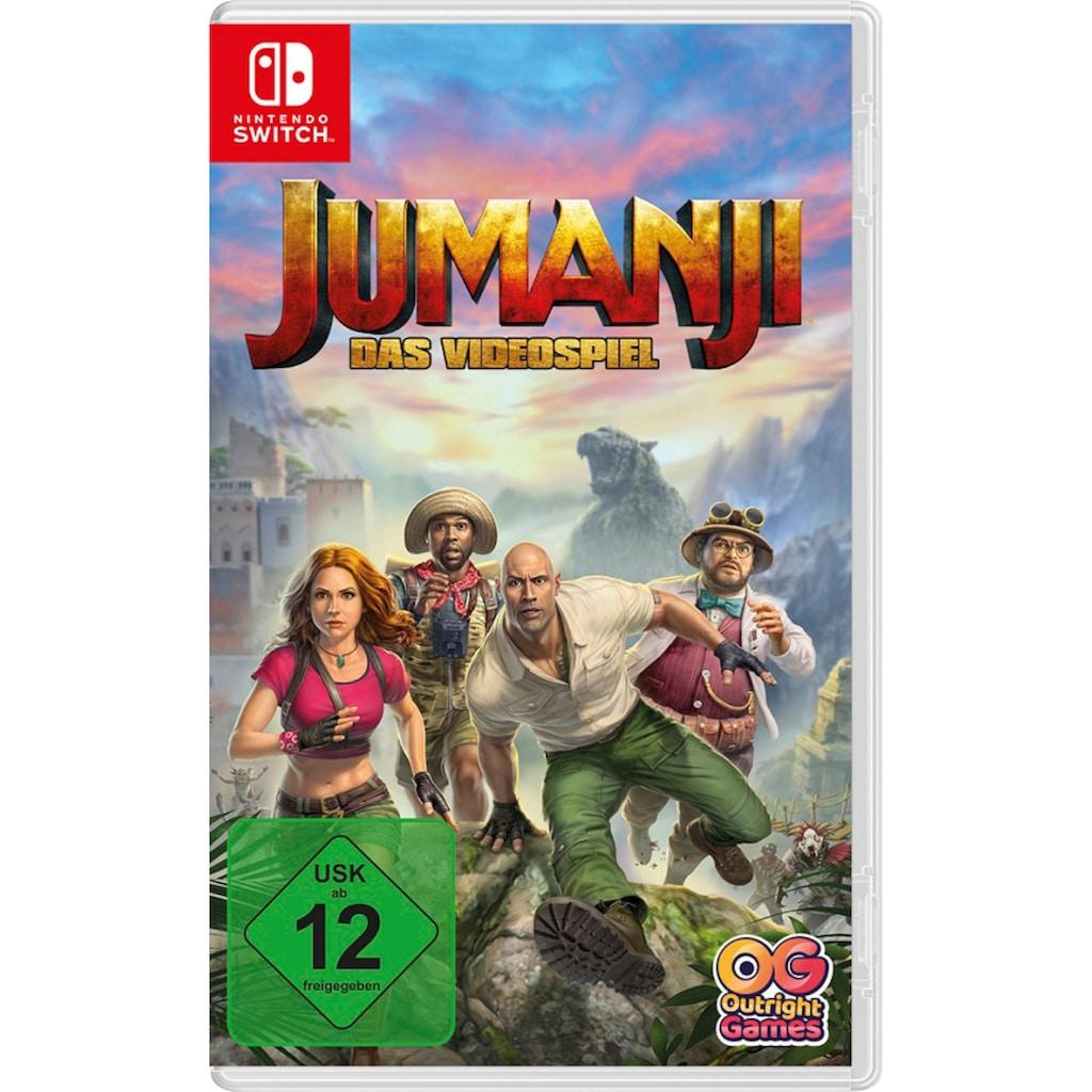 BANDAI NAMCO Spiel »Jumanji«, Nintendo Switch