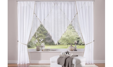 my home Gardine »Volano«, Vorhang, Fertiggardine, transparent kaufen