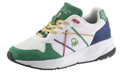 United Colors of Benetton Keilsneaker »Ascent Color«, mit tollen Kontrastdetails kaufen