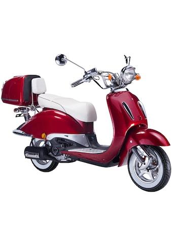 GT UNION Motorroller »Strada«, 50 cm³, 45 km/h, Euro 4, 3 PS, (Set), inkl. Topcase kaufen