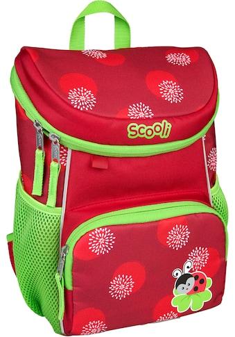 Scooli Kinderrucksack »Mini-Me, Lotti Ladybug«, Reflektoren kaufen