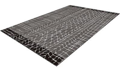 calo-deluxe Teppich »Pinda 4454«, rechteckig, 18 mm Höhe, Kurzflor, Wohnzimmer kaufen