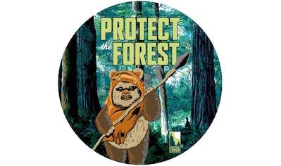 Komar Fototapete »Star Wars Protect the Forest«, bedruckt-Comic-Retro-mehrfarbig, BxH:... kaufen