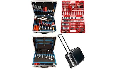 Famex Trolley ABS Werkzeugkoffer Set »Famex 606 - 09« mit 174tlg. Steckschlüsselsatz kaufen