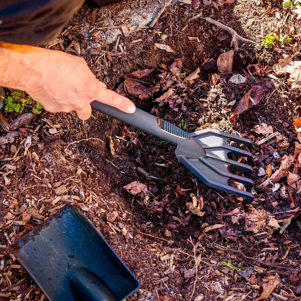 UPP Gartenpflege-Set »JUMBO DELUXE«, Handspaten, Schaufel und Kultivator