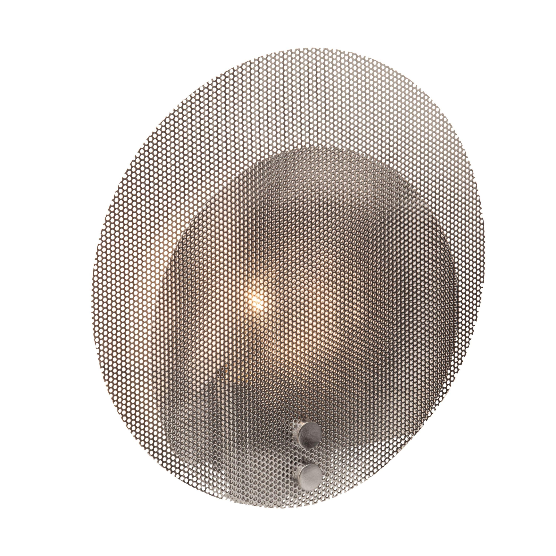 Brilliant Leuchten Racket Wandleuchte 25cm chrom