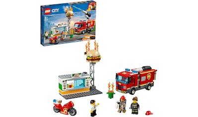 """LEGO® Konstruktionsspielsteine """"Feuerwehreinsatz im Burger - Restaurant (60214), LEGO® City"""", Kunststoff, (327 - tlg.) kaufen"""