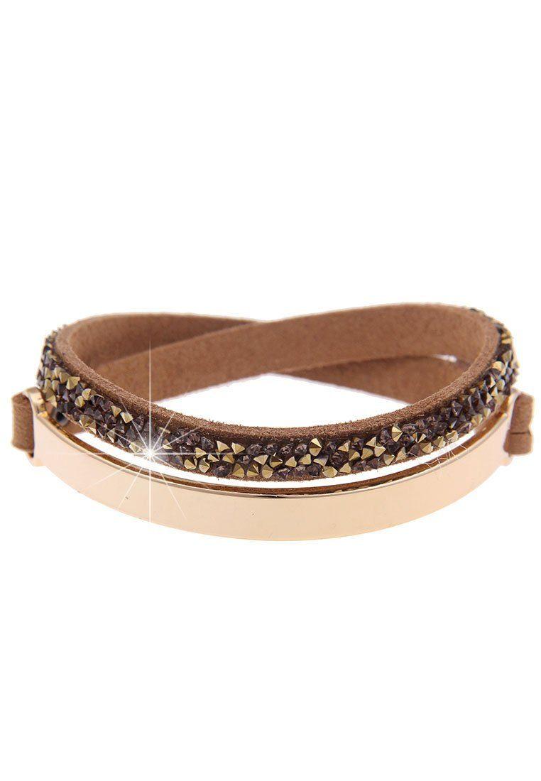 leslii Armband, mit Strass-Besatz silberfarben Damen Armband Armbänder Schmuck 4250980333186