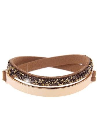 leslii Armband mit Strass-Besatz kaufen