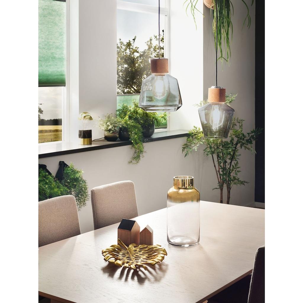 Paulmann LED Pendelleuchte »Edla Rauchglas/Kork/Schwarz max. 20W E27«, E27, 1 St.