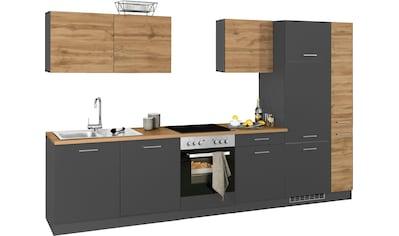 HELD MÖBEL Küchenzeile »Kehl«, ohne E-Geräte, Breite 330 cm kaufen
