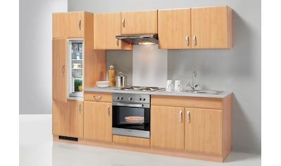 wiho Küchen Küchenzeile »Prag«, mit E-Geräten, Breite 270 cm - Set 1 kaufen