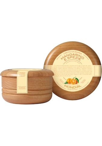 Mondial Antica Barberia Rasiercreme »Luxury Shaving Cream Wooden Bowl Mandarino e Spezie« kaufen