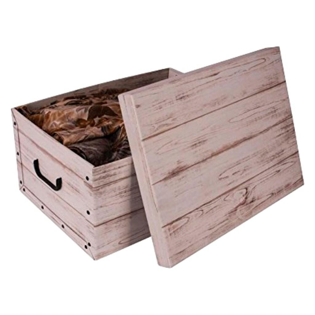 Kreher Aufbewahrungsbox »White Wood«