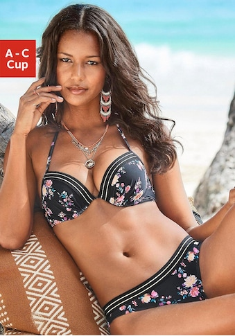 JETTE Push-Up-Bikini, mit goldenem Lurexfaden kaufen