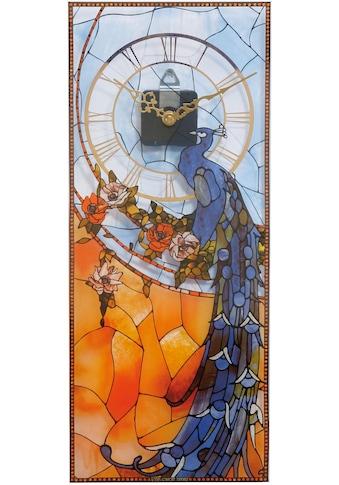 Goebel Wanduhr »Tiffany, Pfau blau, 67000521« kaufen