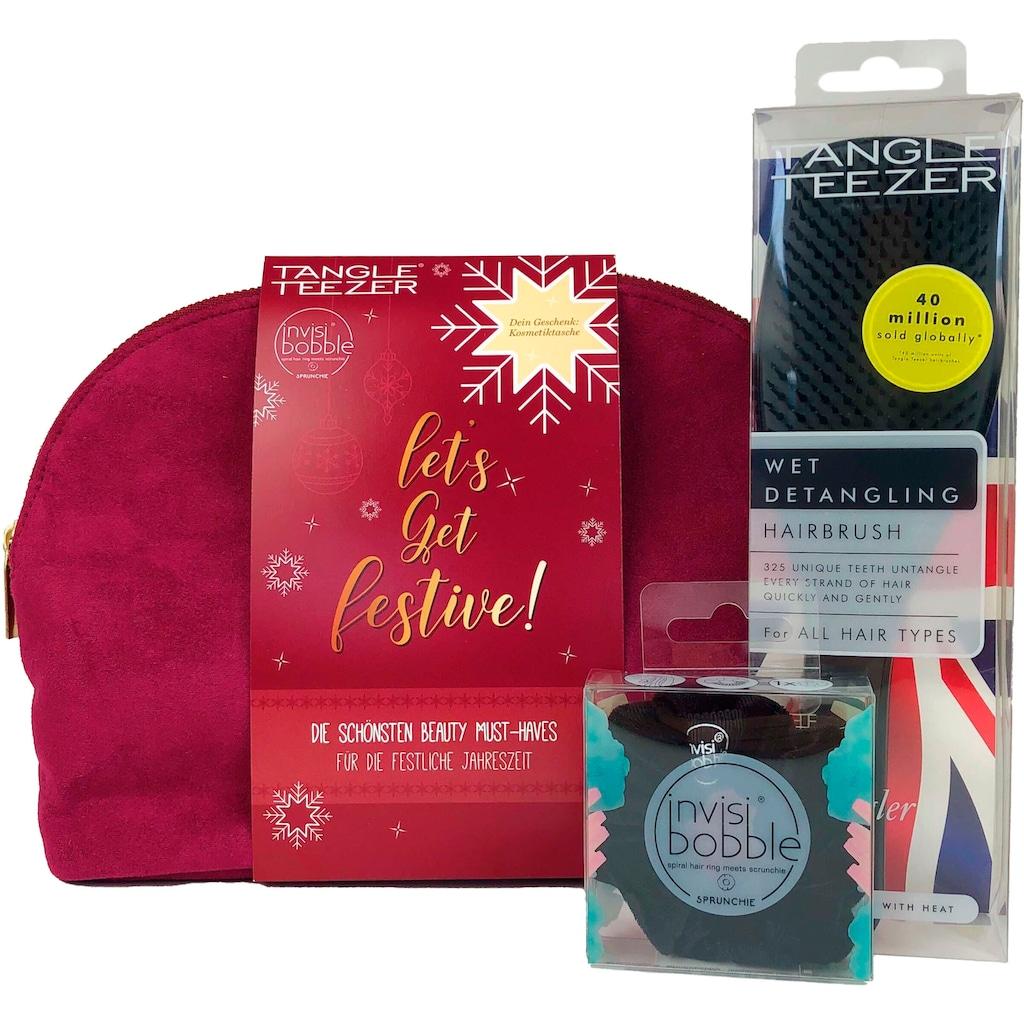 TANGLE TEEZER Haarstyling-Set »Let's Get Festive Bag«
