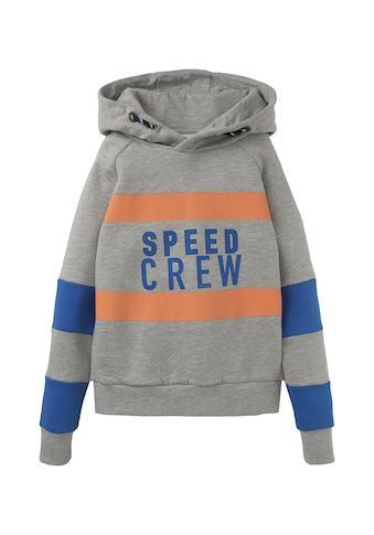 TOM TAILOR Sweatshirt »Colorblocking Hoodie mit Print« kaufen