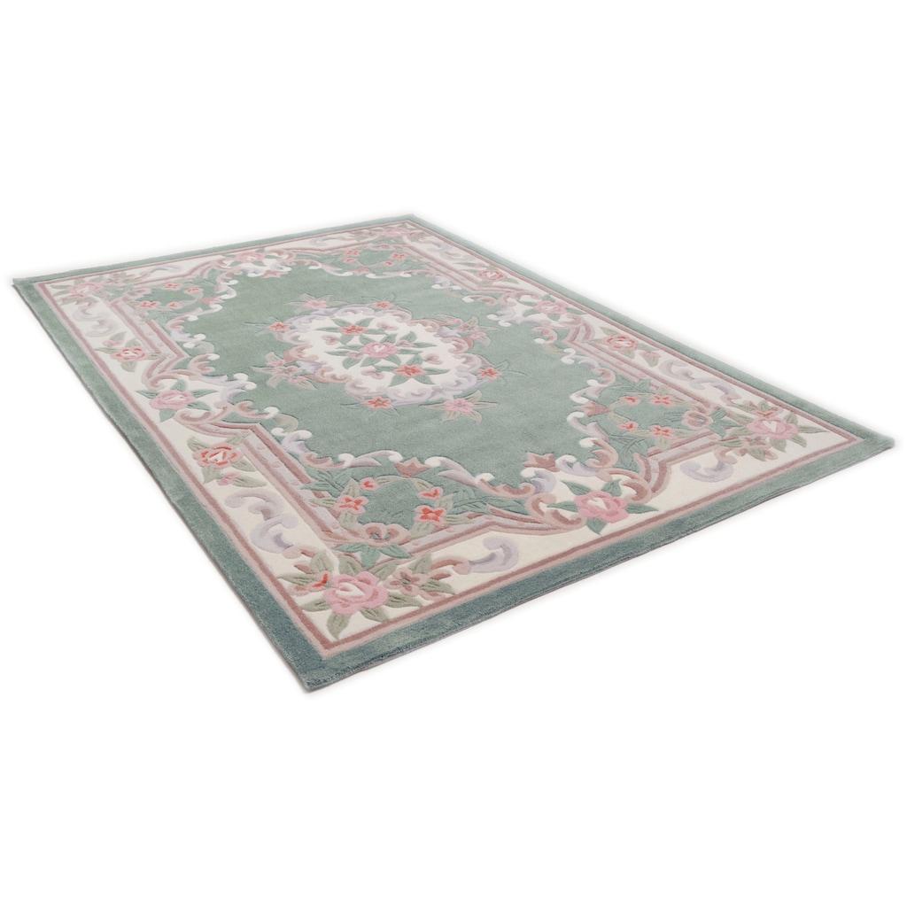 THEKO Teppich »Ming«, rechteckig, 14 mm Höhe, hochwertiges Acrylgarn, Wohnzimmer