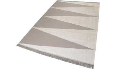 Teppich, »Smart Triangle«, carpets&co, rechteckig, Höhe 5 mm, handgewebt kaufen