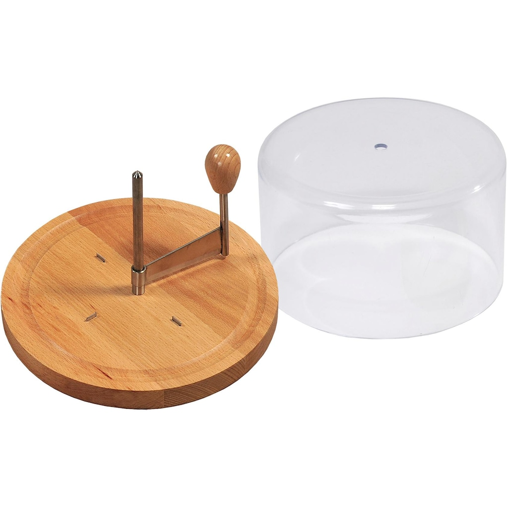 KESPER for kitchen & home Käsebrett, mit Haube