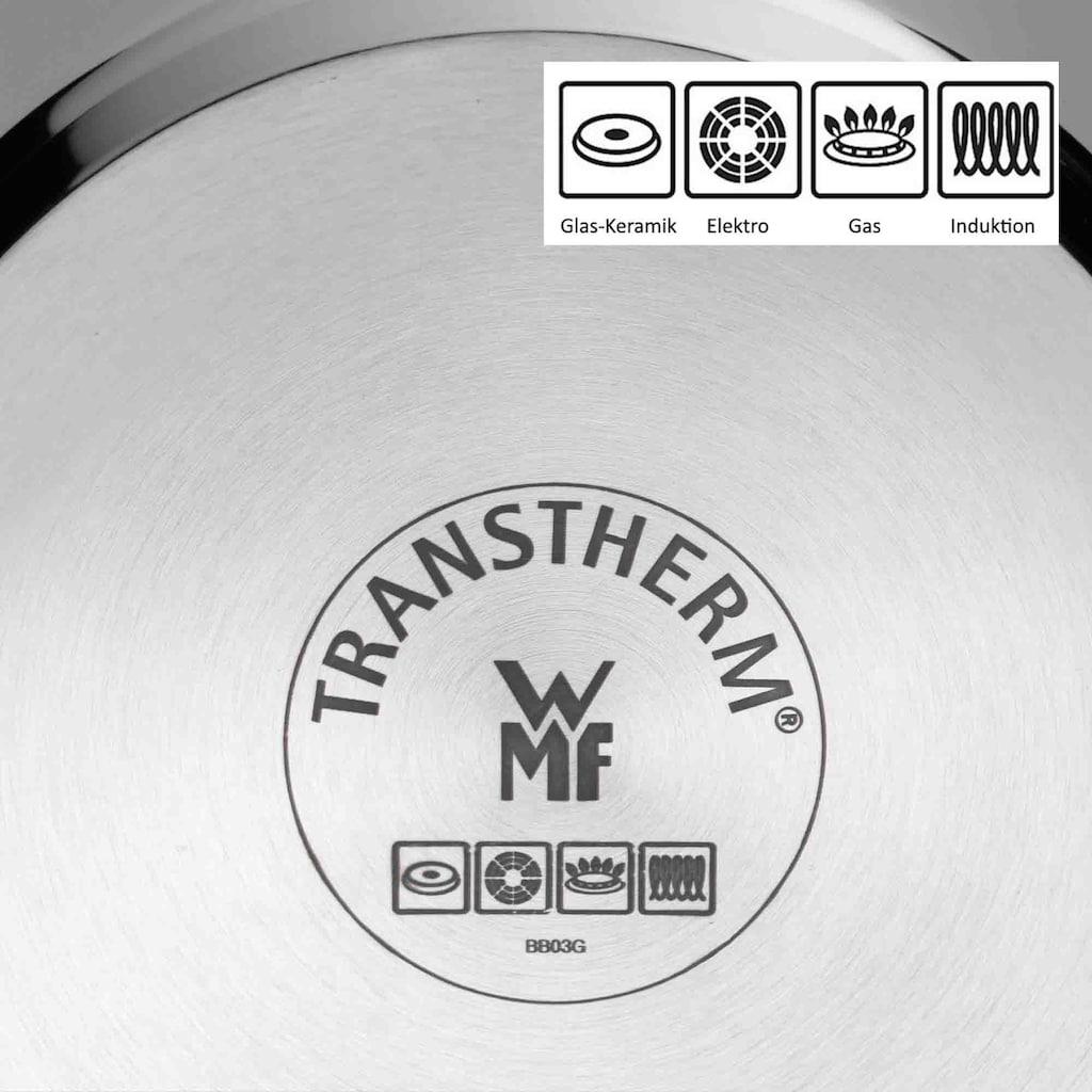 WMF Spargeltopf, Cromargan® Edelstahl Rostfrei 18/10, Ø 16 cm, mit Siebeinsatz, Induktion, 4,5 Liter