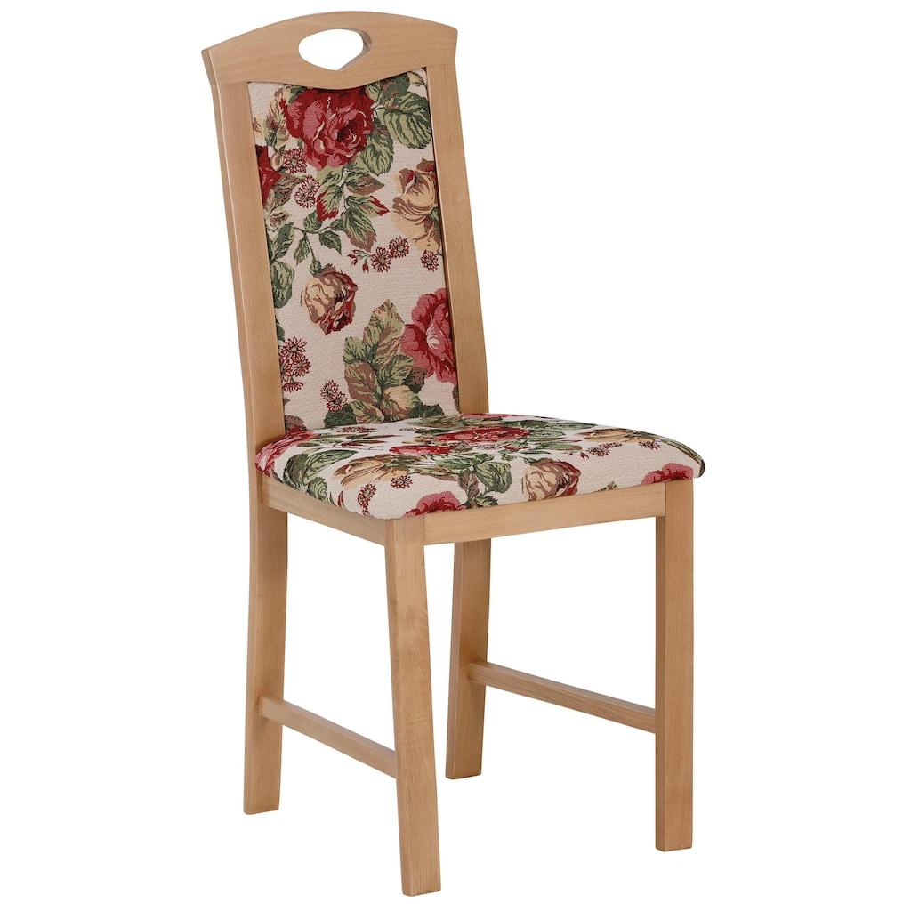 Home affaire Eckbankgruppe »Minden 1«, (Set, 4 St., Die Stühle weichen in der Farbe ab.), im rustikalen Landhausstil