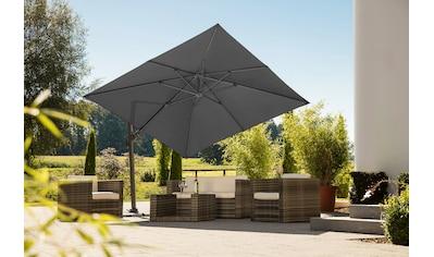 Schneider Schirme Ampelschirm »Rhodos Twist«, mit Schutzhülle, ohne Wegeplatten kaufen