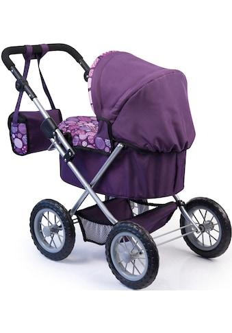 Bayer Puppenwagen »Trendy, lila«, mit Wickeltasche kaufen