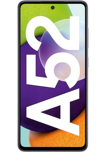 """Samsung Smartphone »Galaxy-A52«, (16,4 cm/6,5 """" 128 GB Speicherplatz, 64 MP Kamera) kaufen"""
