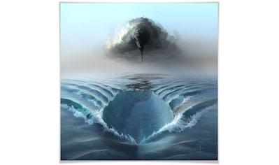 Wall-Art Poster »Ozean Sehnsucht Schiff auf Meer«, Meer, (1 St.), Poster, Wandbild, Bild, Wandposter kaufen