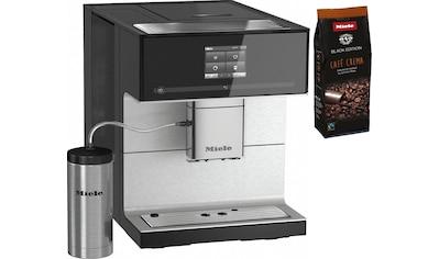Miele Kaffeevollautomat »CM7350 Obsidianschwarz«, Appfähig kaufen