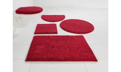 Home affaire Badematte »Maren«, Höhe 15 mm, rutschhemmend beschichtet, fußbodenheizungsgeeignet, Bio-Baumwolle kaufen