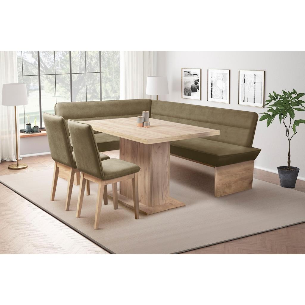 Premium collection by Home affaire Eckbank »Beluna«, mit Wellenunterfederung im Sitz