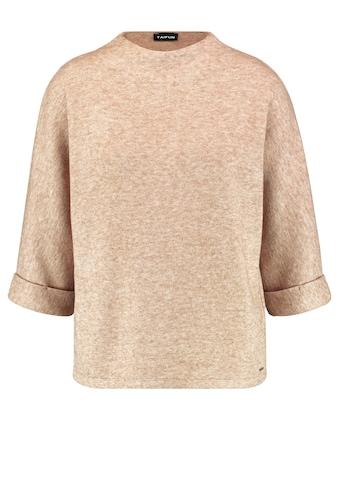 Taifun Rundhalsshirt »3/4 Arm Shirt mit Stehkragen« kaufen