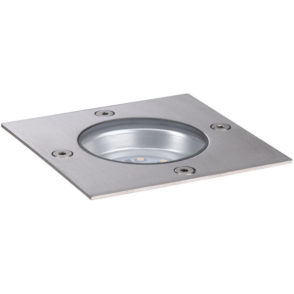 Paulmann LED Einbauleuchte »Outdoor Plug&Shine floor downlight«, 1 St., Warmweiß, IP65 Rostfrei