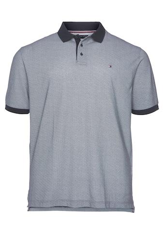 Tommy Hilfiger Big & Tall Poloshirt »BT-MICRO PRINT POLO« kaufen