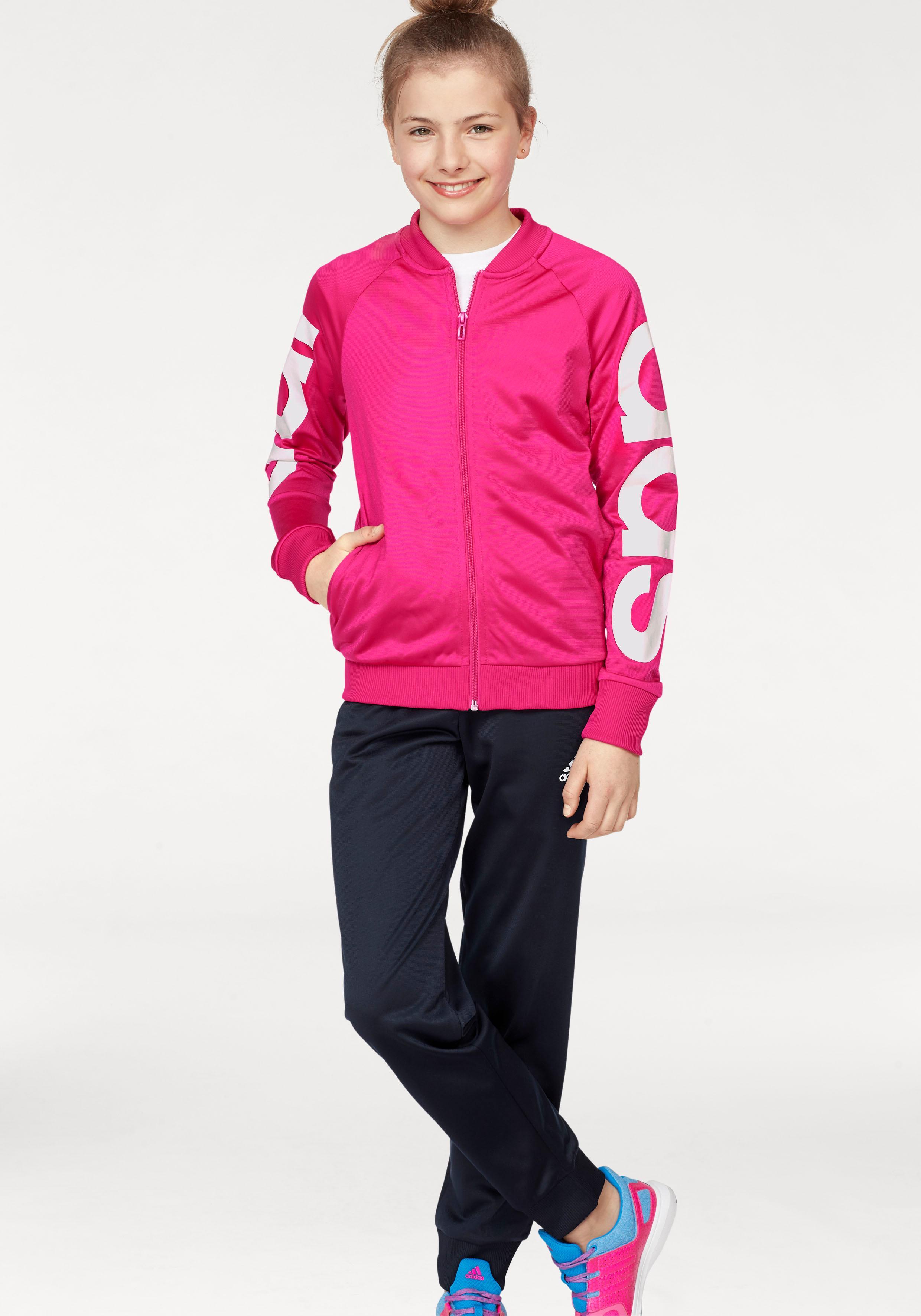 adidas Performance Trainingsanzug  YOUTH GIRLS TRACKSUIT  (Packung, 2 tlg.) Preisvergleich