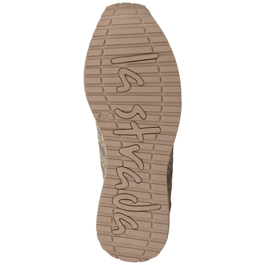 La Strada Sneaker »Lederimitat/Textil«
