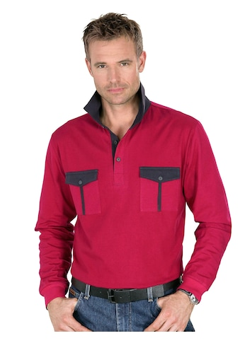 Classic Basics Poloshirt mit Paspelierungen kaufen