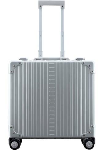 "ALEON Pilotenkoffer ""Aluminiumkoffer Deluxe Business Case, 44 cm"", 4 Rollen kaufen"