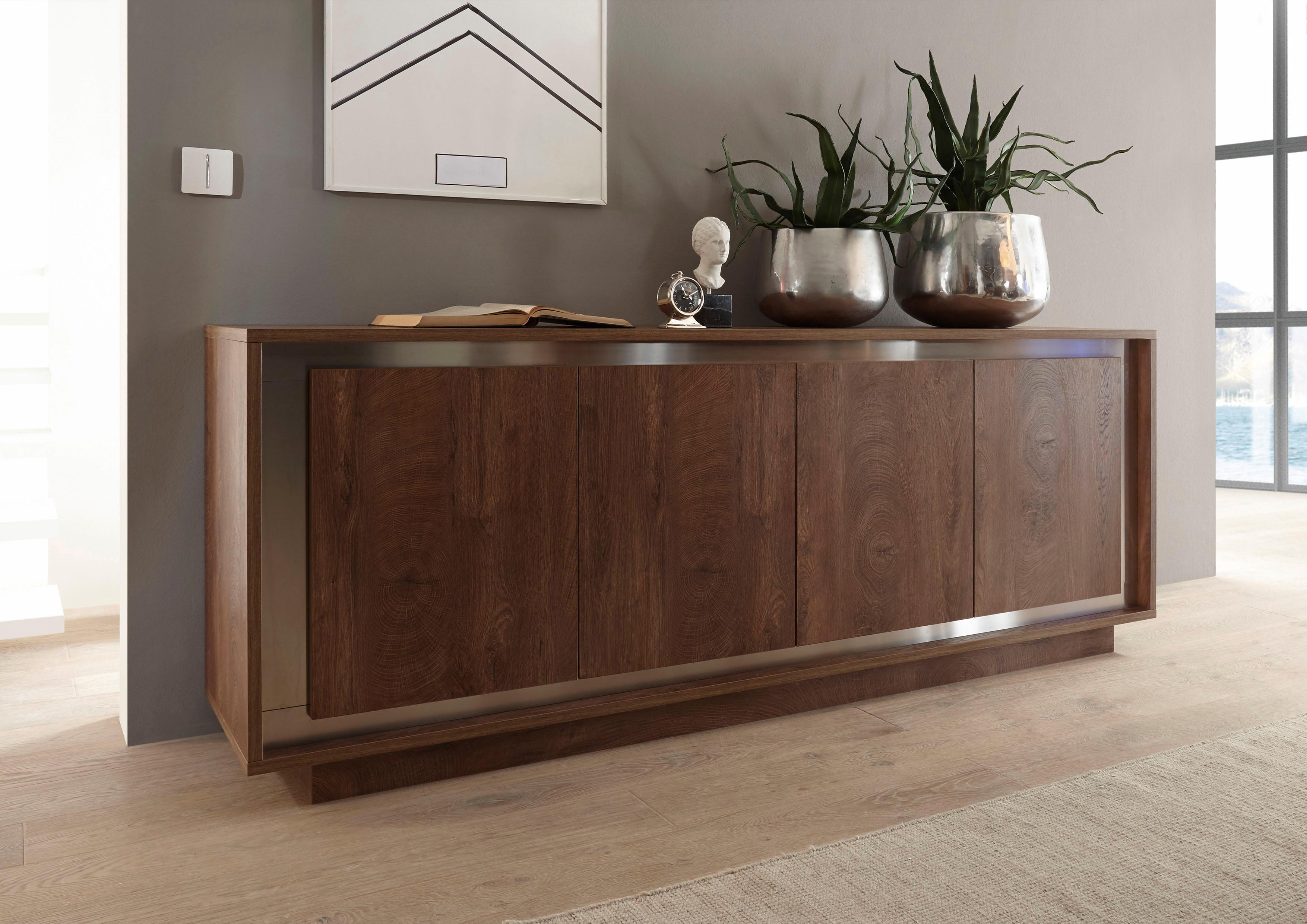 lc sky sideboard breite 207 cm auf rechnung kaufen baur. Black Bedroom Furniture Sets. Home Design Ideas