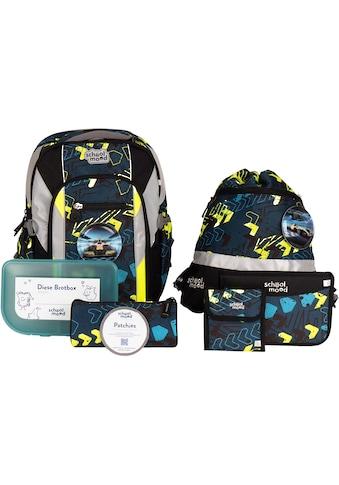 SCHOOL-MOOD® Schulrucksack »Loop Air+, Elias«, retroreflektierende Flächen, mit... kaufen