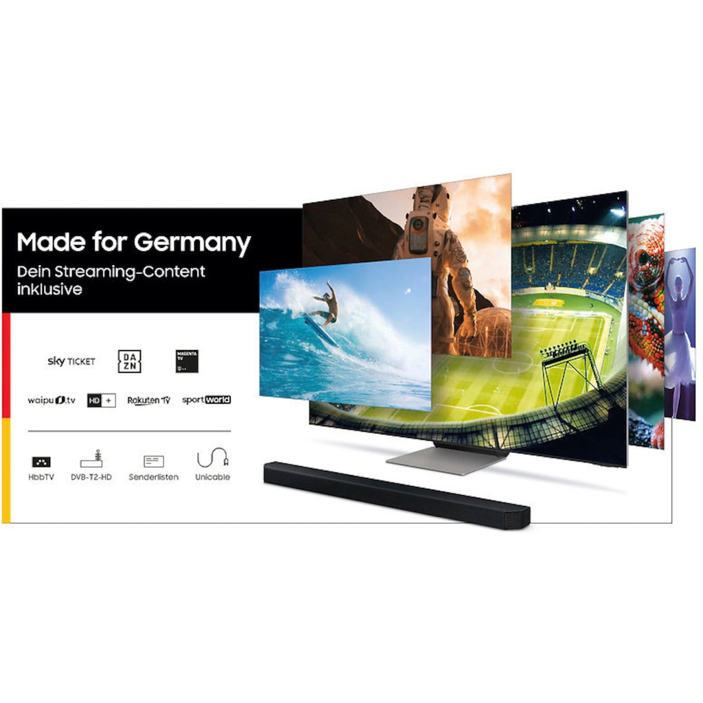 """Samsung LED-Fernseher »GU75AU7179U«, 189 cm/75 """", 4K Ultra HD, Smart-TV"""