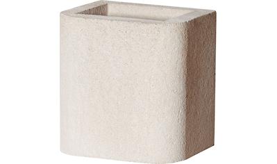 BUSCHBECK Kaminverlängerung »Standard«, für BUSCHBECK Gartengrillkamine, B/T/H: 27/33/34 cm, weiß kaufen