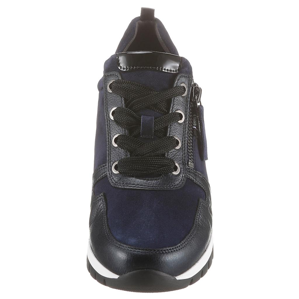 Gabor Keilsneaker, mit Glitzerdetails